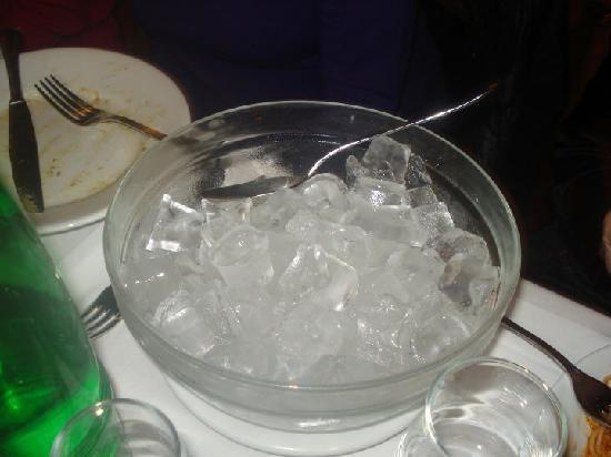 La Cisterna: My bowl of ice!