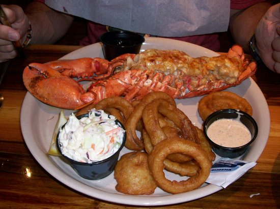 Miller's Ale House : lobster special $9.99
