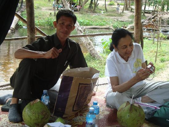 Sofitel Angkor Phokeethra Golf and Spa Resort: Our driver