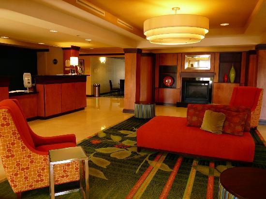 Fairfield Inn & Suites Melbourne Palm Bay/Viera : Lobby