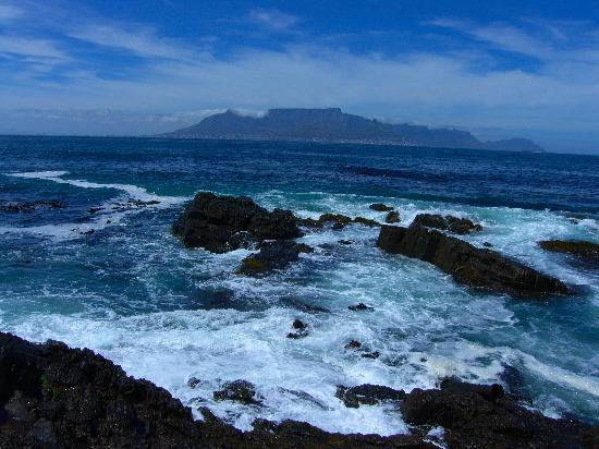 Bloubergstrand, South Africa: Table Mountain