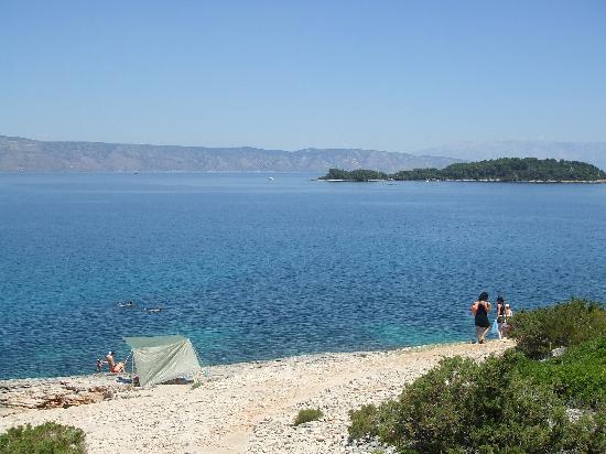Hvar, โครเอเชีย: spiaggia vrboska