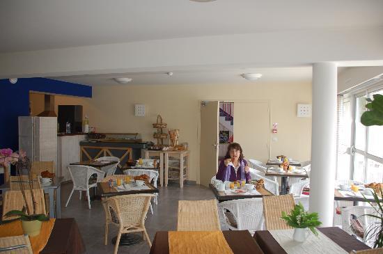 Hotel L'Hippocampe : sala colazione