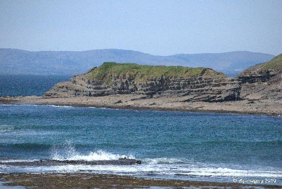 Bundoran, Irlande : View from hotel