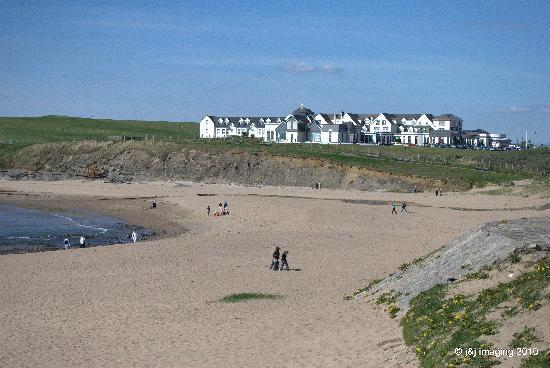 Fitzgerald's Hotel: Beach at Bundoran