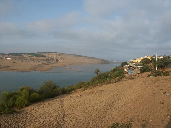 Maroko: Lagoon and sea