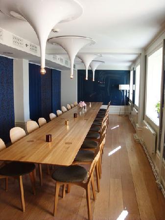Hotel Skeppsholmen: off the dining area for big groups