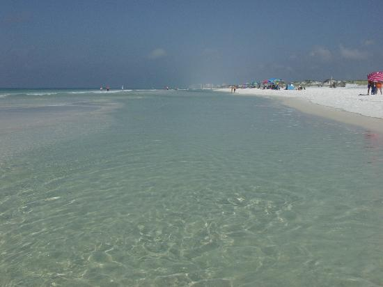Santa Rosa Beach, Floryda: The beach