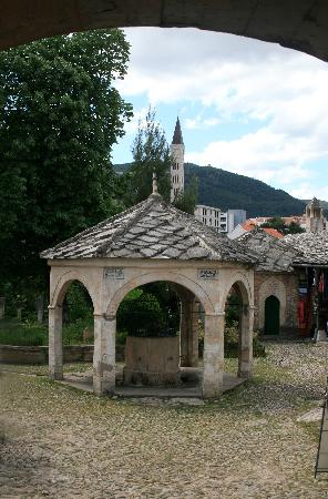 Courtyard Koskin Mehmed Pasha S Mosque Mostar Picture