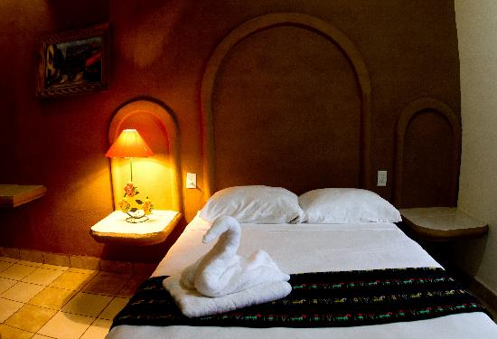 Bedroom at Posada Tulipanes