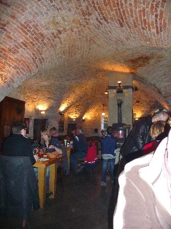 Archibald At the Charles Bridge: in the restaurant - a bit pricey