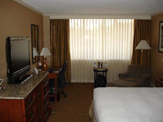 Hilton Birmingham Perimeter Park: Full Room Shot