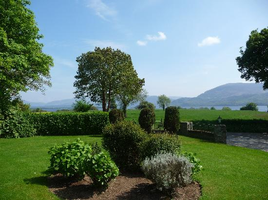 Loch Lein Country House: View from our room