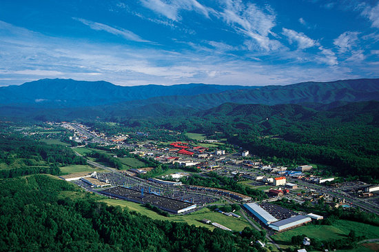 Пиджен-Фордж, Теннесси: Pigeon Forge Visitors Bureau