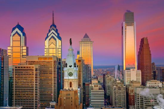 Filadelfia, Pensylwania: Philadelphia Skyline - Photo by B.Krist for GPTMC