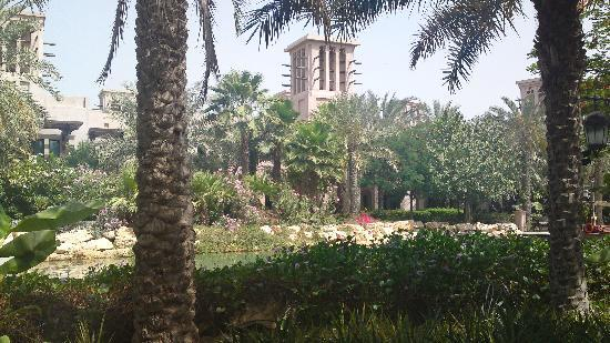Jumeirah Dar Al Masyaf at Madinat Jumeirah: view from outside our room