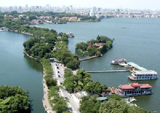 Hanoï, Vietnam : hanoi west lake
