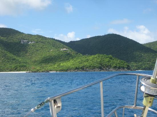 Yacht Nightwind: Secluded St John