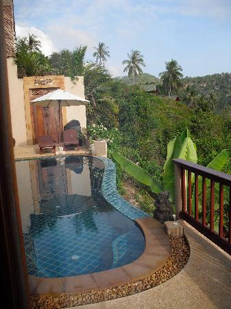 Ed Rock Villas: View of the infinity pool