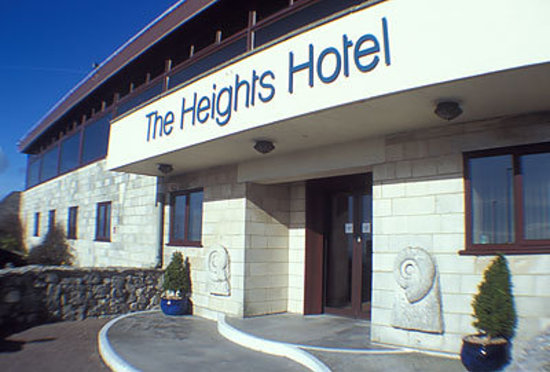 The Heights Hotel: Main entrance