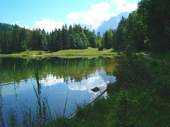 Gästehaus Bergzauber: Ferchensee ganz in der Nähe