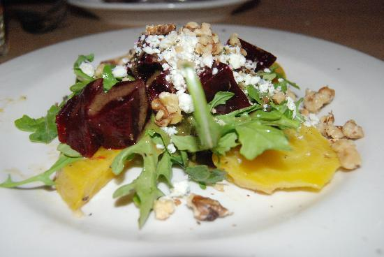 The Pink Door: beet salad
