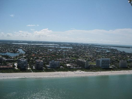 Sky's The Limit Parasail : Marco Island view from parasail