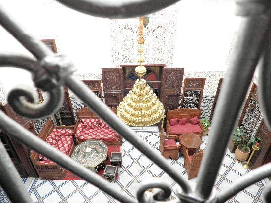 Riad Dar Chrifa: Vue d une chambre