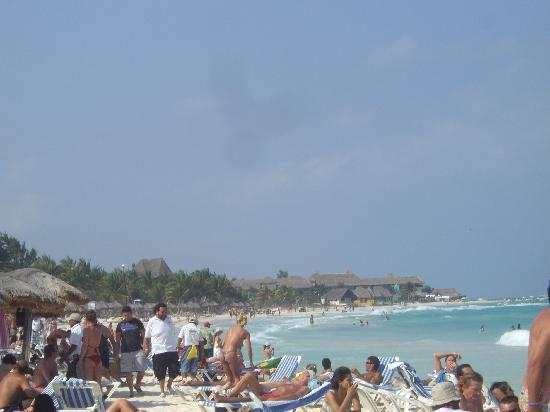Playa del Carmen, Mexico: Mamatia's Beach....where to action is!