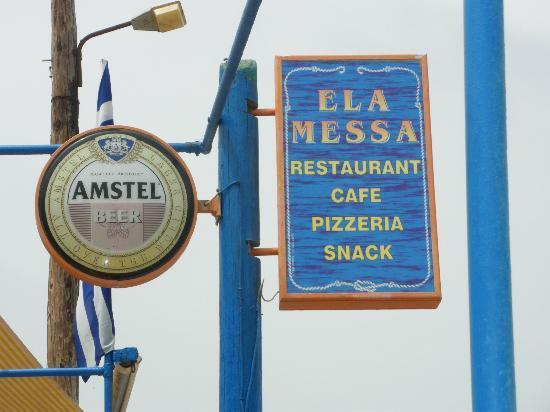 Atlantica Sensatori Resort Crete: Ela Messa bar - lovely! Ask for Marie!