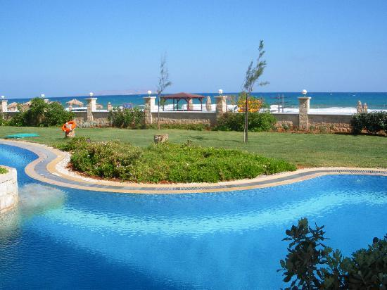Atlantica Sensatori Resort Crete: View from our swim-up room 6009