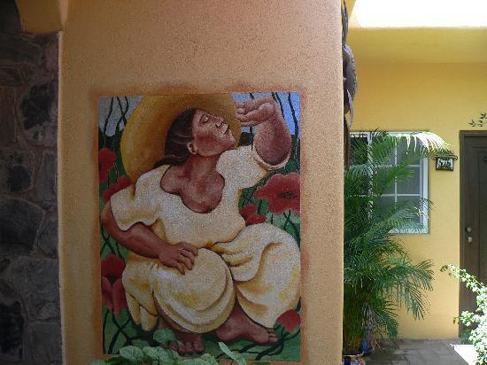 Norman Diego's The Mexican Inn: One of many murals