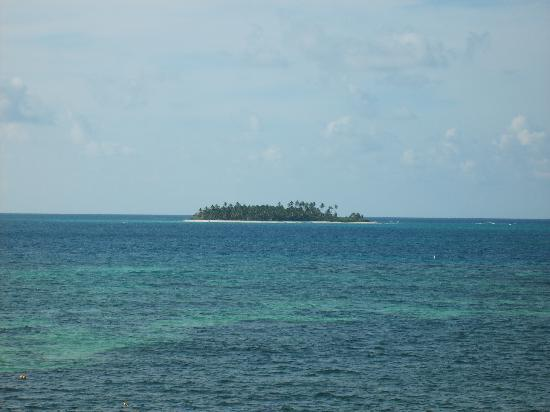 Hotel Lord Pierre: vista a jhonny cay