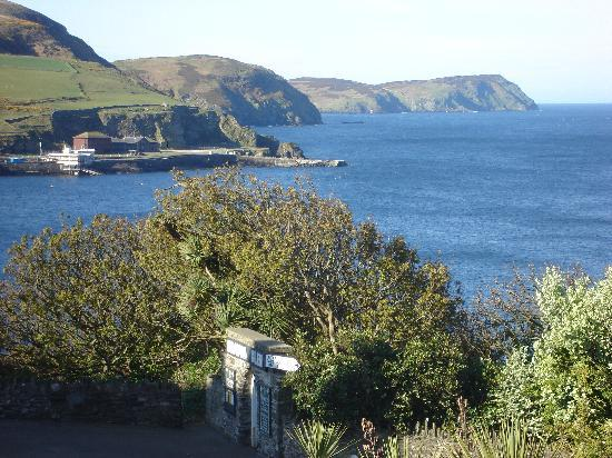 Port Erin, UK: View from our bedroom window