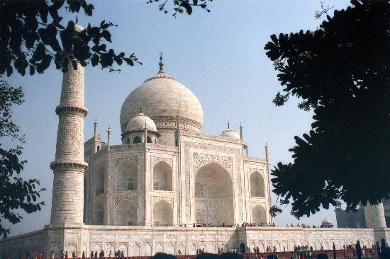 Agra, India: Una de tantas vistas del Mausoleo