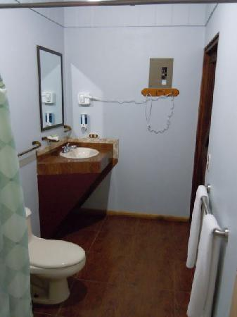 Arenal Green Hotel: Very large shower!