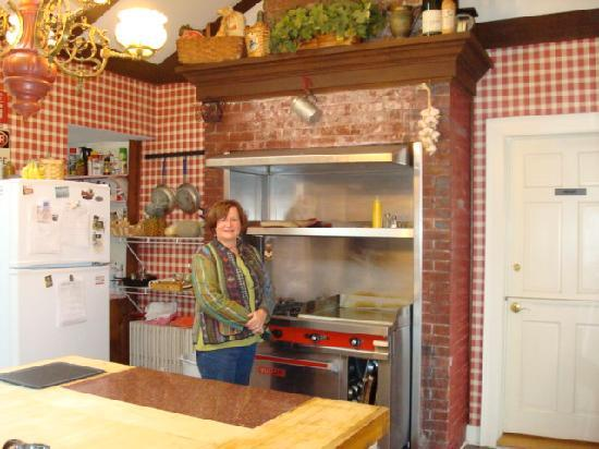 Inn at Stockbridge: The kitchen is overseen by Alice