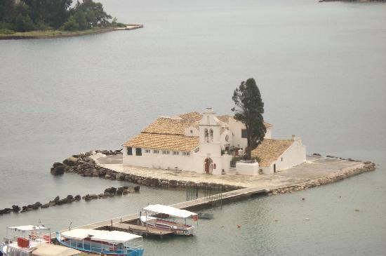 Mayor Capo Di Corfu: kanoni monastère