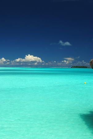 InterContinental Bora Bora Resort & Thalasso Spa: Blue Water