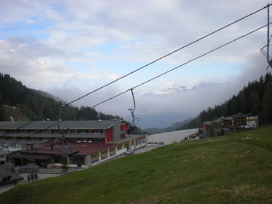 Axams, Austria: Blick vom Berg