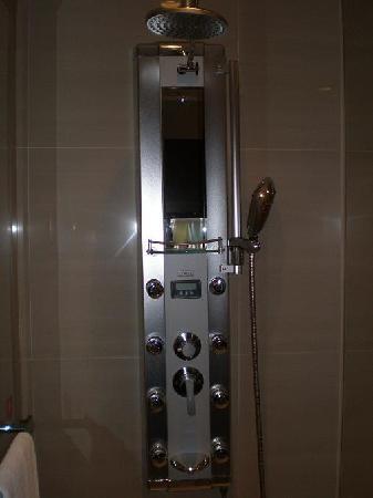 fancy shower! - Picture of Hotel HD Palace Taipei, Da\'an - TripAdvisor