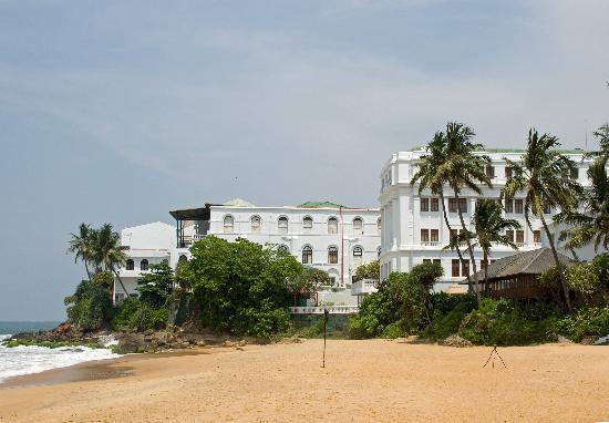Dehiwala-Mount Lavinia, Sri Lanka : From the Private Beach