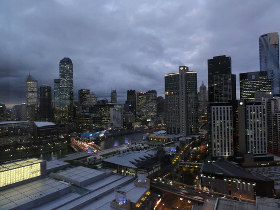 Crown Metropol Melbourne: View from Luxe Room