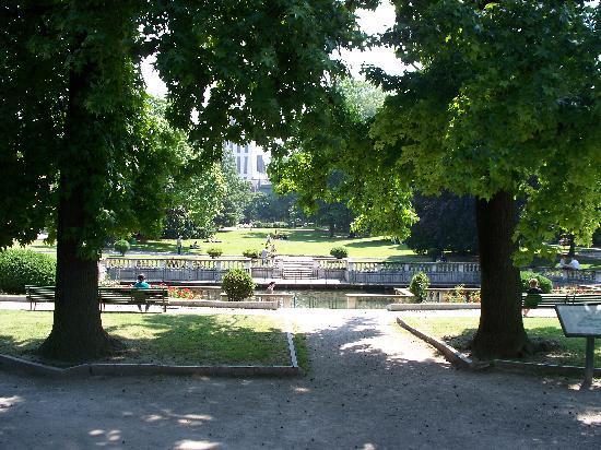 Il Tempio Israelitico di Milano: giardini della Guastalla