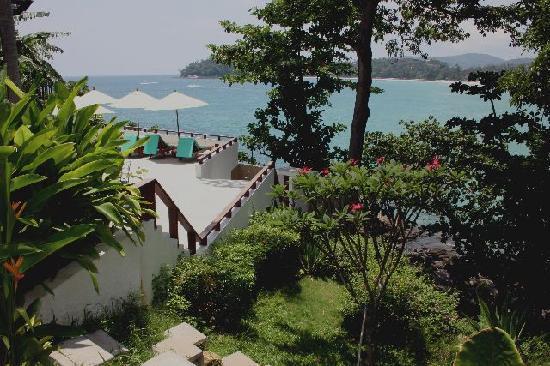 Villa Elisabeth: View from our rear garden
