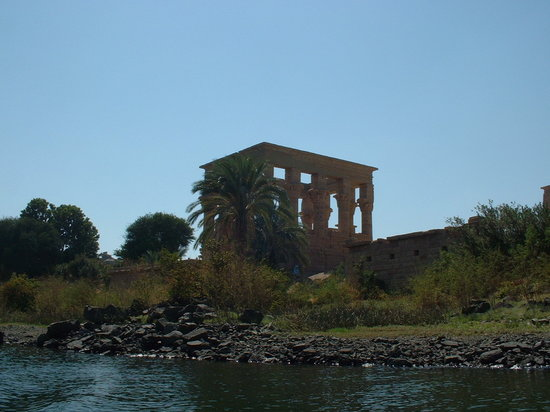 Aswan, Egypte: Temple view