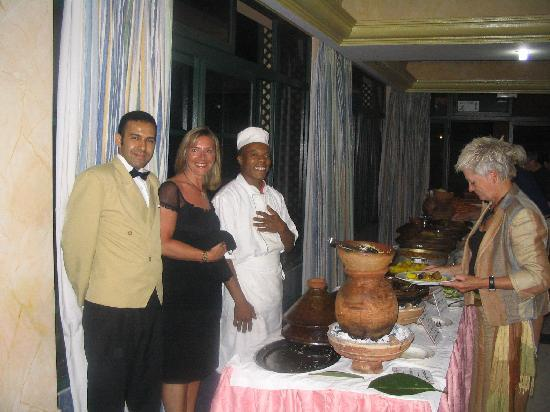 Terrasse picture of argana hotel agadir tripadvisor for Argana moroccan cuisine