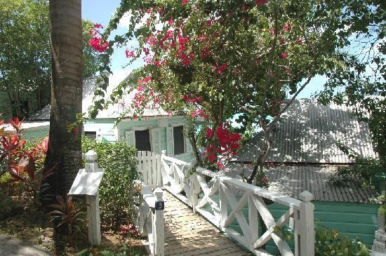 COCOS Hotel Antigua: Einer der individuellen Zugänge zum Haus