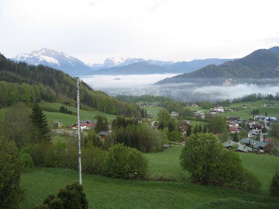Alpenhotel Denninglehen: View from our deck