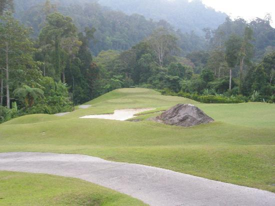 Borneo Highlands Resort: one of the many golf courses